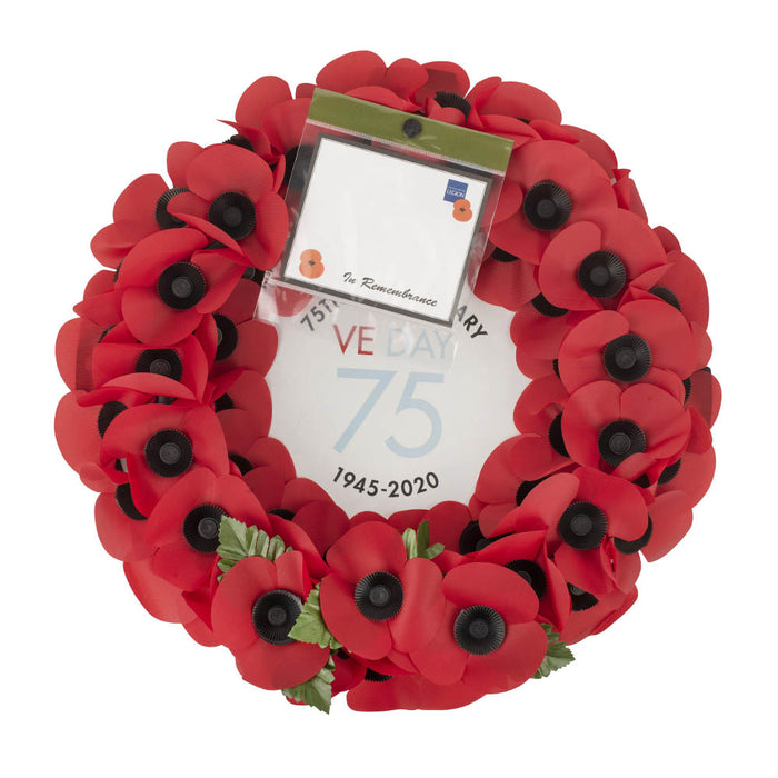 VE Day 75 Poppy Wreath