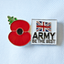Service Poppy Pin Army