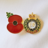 Service Poppy Pin Corps of Royal Engineers