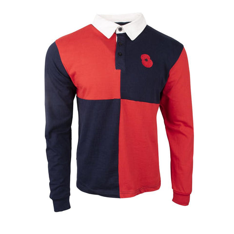 The Royal British Legion Quarter Rugby Shirt