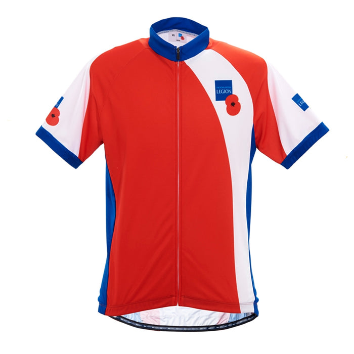 Royal British Legion Red Cycle Top