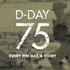 D-Day 75 Lapel Pin