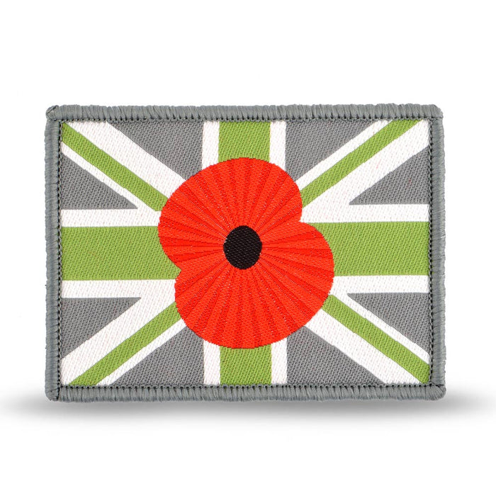 Poppy Union Flag Velcro Patch