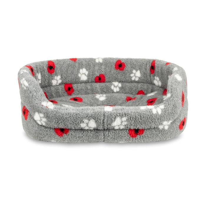 Poppy Paws High Sided Dog Bed