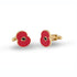 Poppy T-Bar Cufflinks Gold