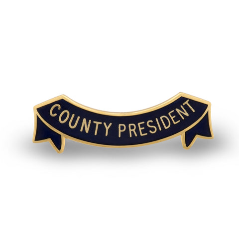 MEMBERS Women's Section Country President Badge
