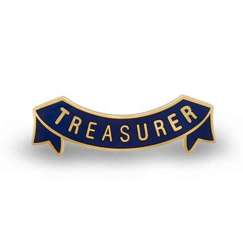 MEMBERS Women's Section Treasurer Badge