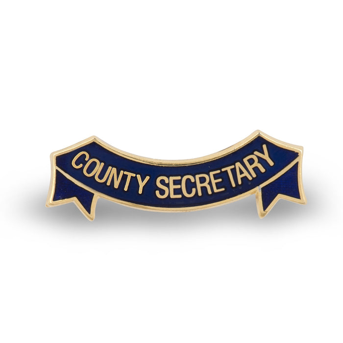 MEMBERS Women's Section County Secretary Badge