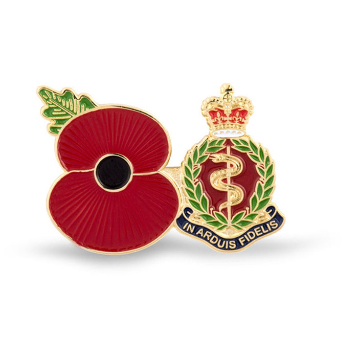 Service Poppy Pin Royal Army Medical Corps