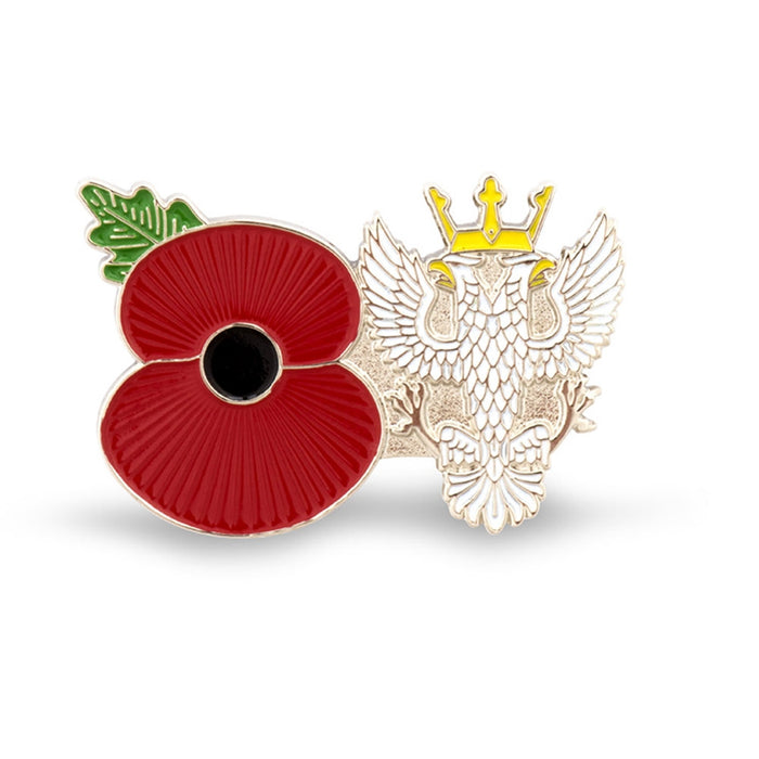 Service Poppy Pin Mercian Regt