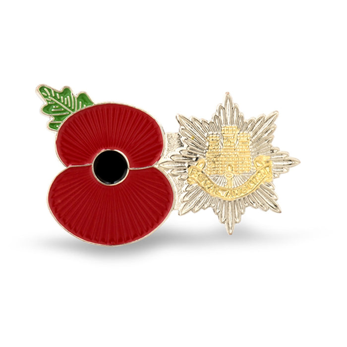 Service Poppy Pin The Royal Anglians