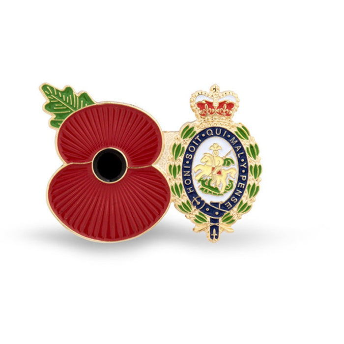 Service Poppy Pin Royal Regt of Fusiliers