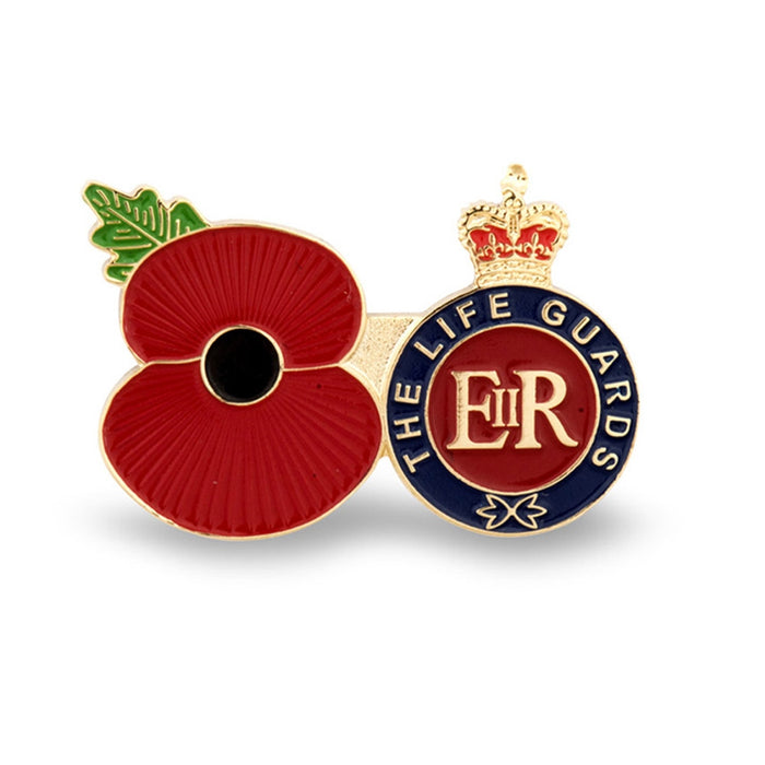 Service Poppy Pin The Life Guards