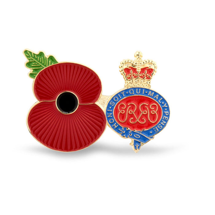 Service Poppy Pin Grenadier Guards