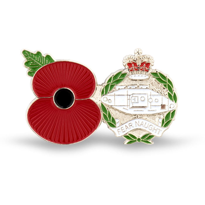 Service Poppy Pin Royal Tank Regt