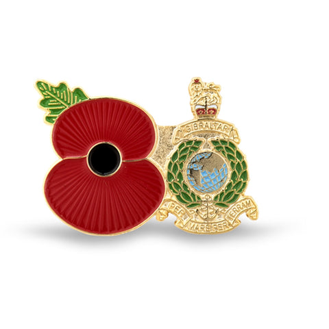 Service Poppy Pin Royal Marines