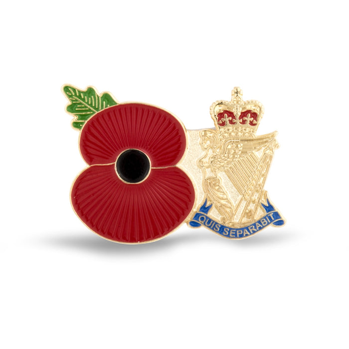 Service Poppy Pin Royal Ulster Rifles