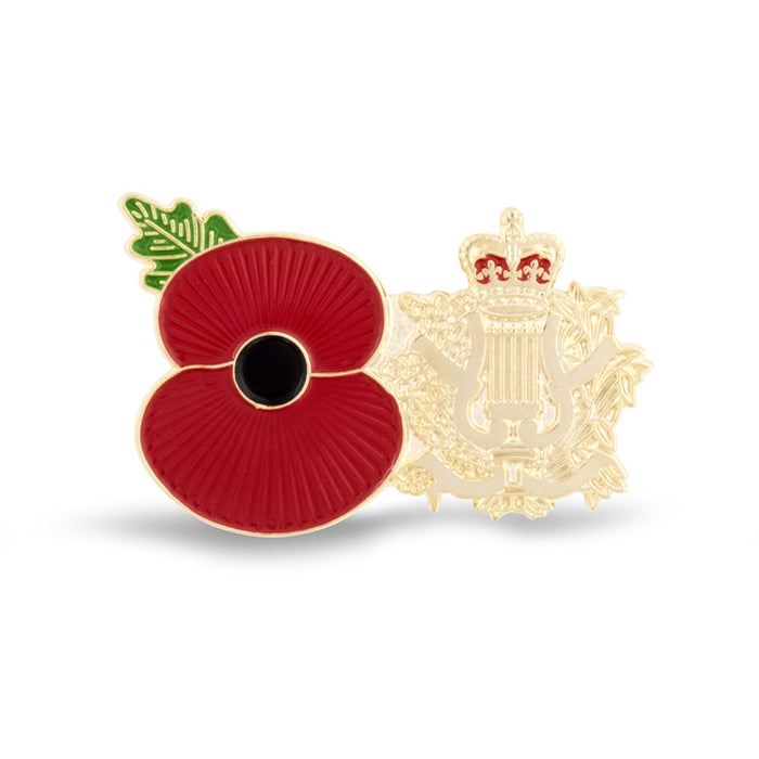 Service Poppy Pin Corps of Army Music