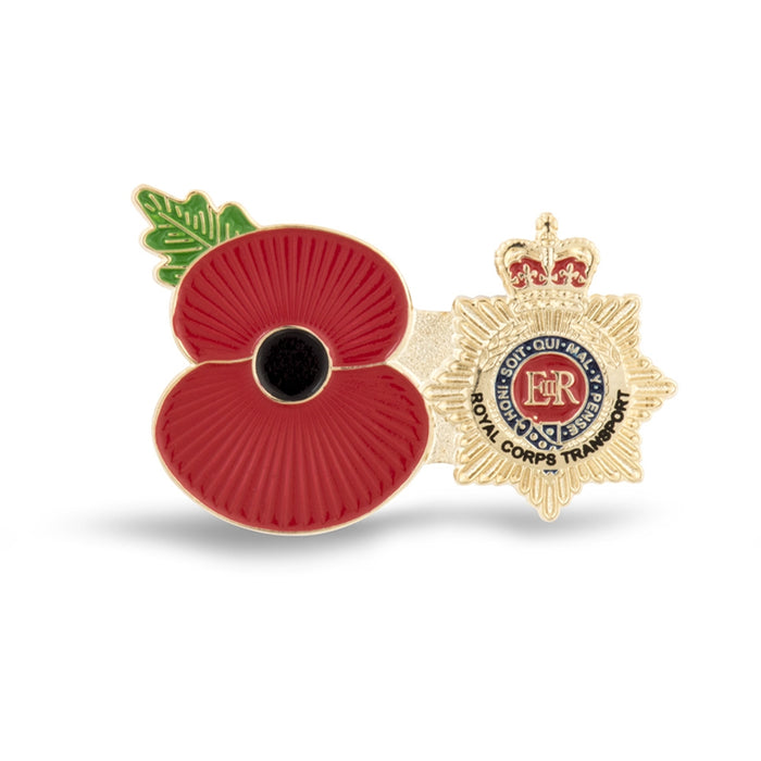 Service Poppy Pin Royal Corps of Transport