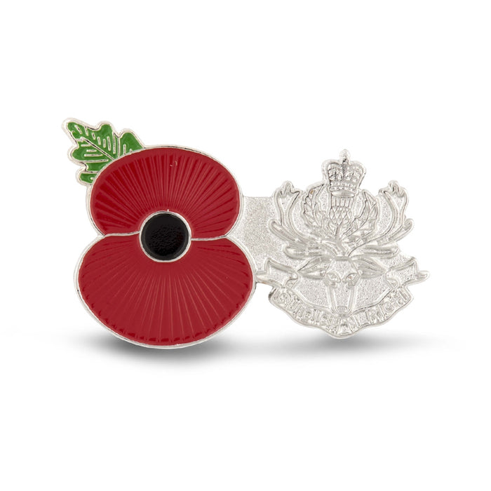 Service Poppy Pin Queens Own Highlanders
