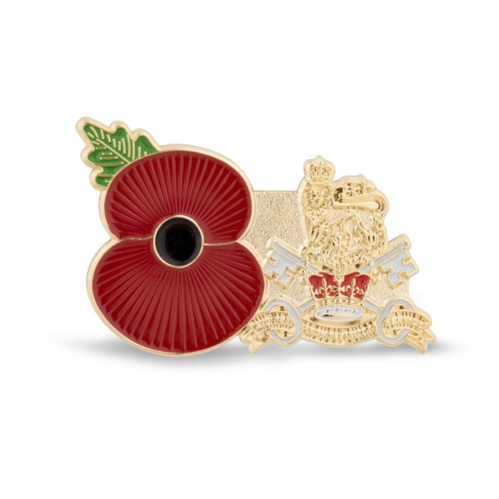 Service Poppy Pin Military Provost Guard Service