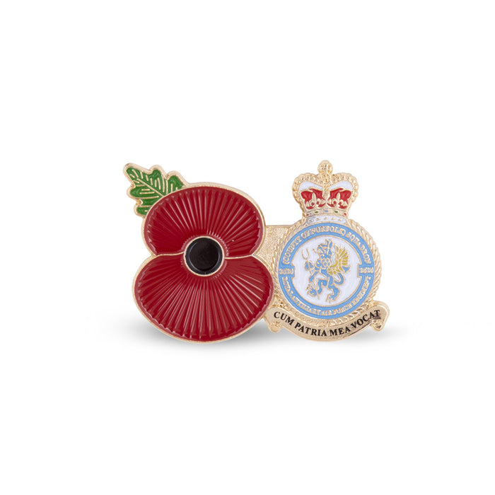 Service Poppy Pin 2620 SQUADRON RAUXAF REGIMENT