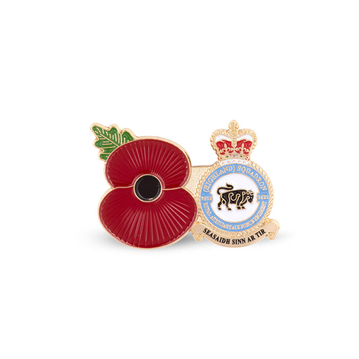 Service Poppy Pin 2622 SQUADRON RAUXAF REGIMENT