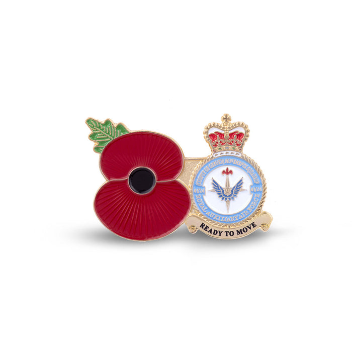 Service Poppy Pin 4624 SQUADRON RAUXAF