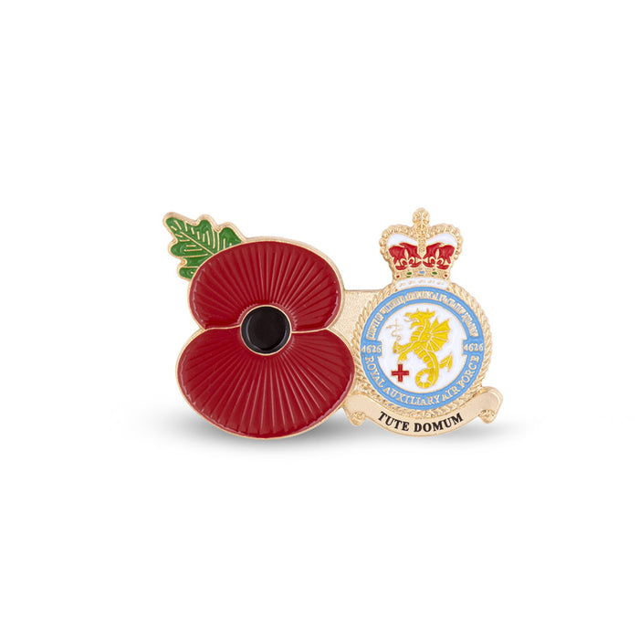 Service Poppy Pin 4626 SQUADRON RAUXAF