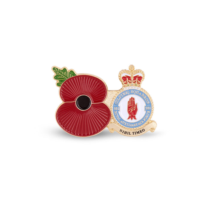 Service Poppy Pin 502 SQUADRON RAUXAF