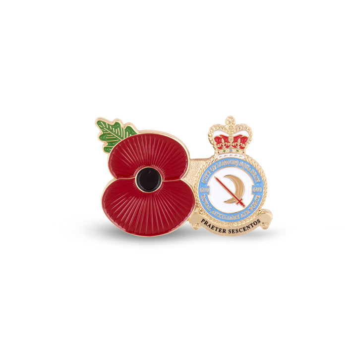 Service Poppy Pin 600 SQUADRON RAUXAF