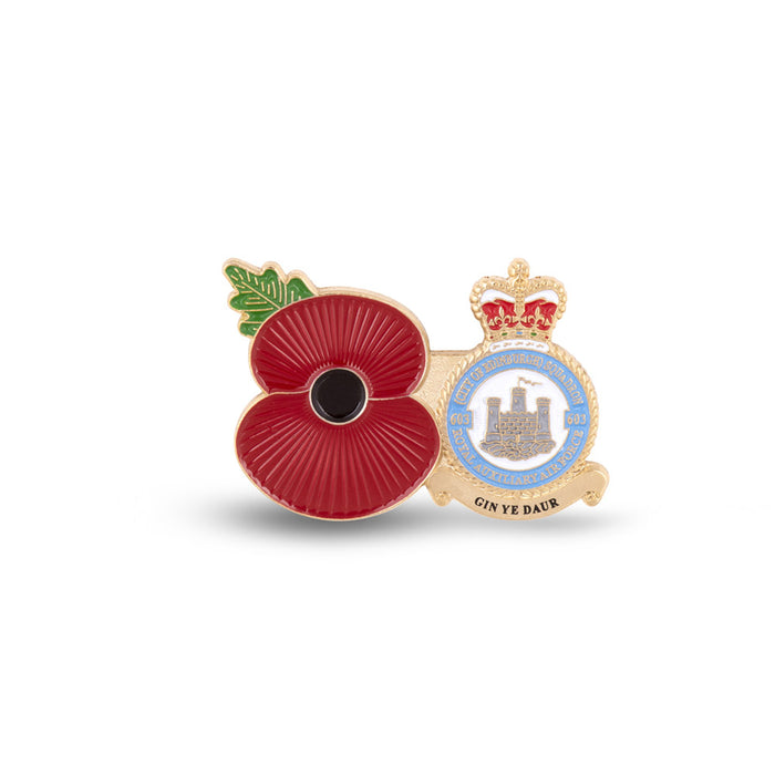 Service Poppy Pin 603 SQUADRON RAUXAF