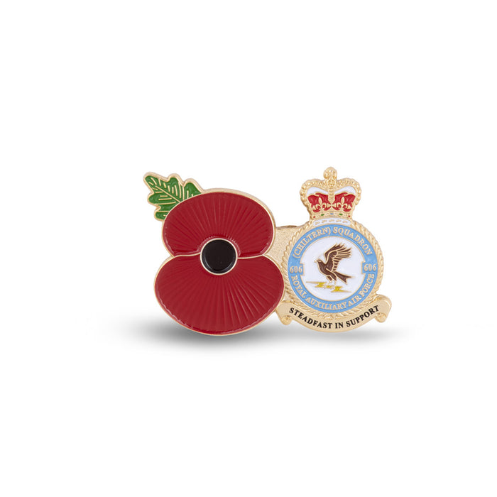 Service Poppy Pin 606 SQUADRON RAUXAF