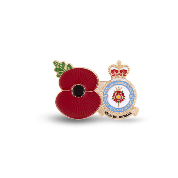 Service Poppy Pin 611 SQUADRON RAUXAF