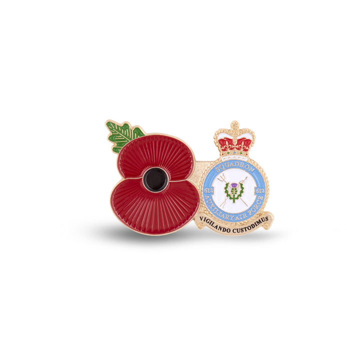 Service Poppy Pin 612 SQUADRON RAUXAF