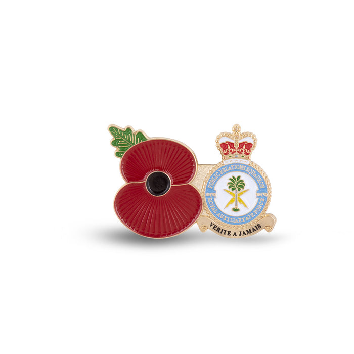 Service Poppy Pin 7644 SQUADRON RAUXAF