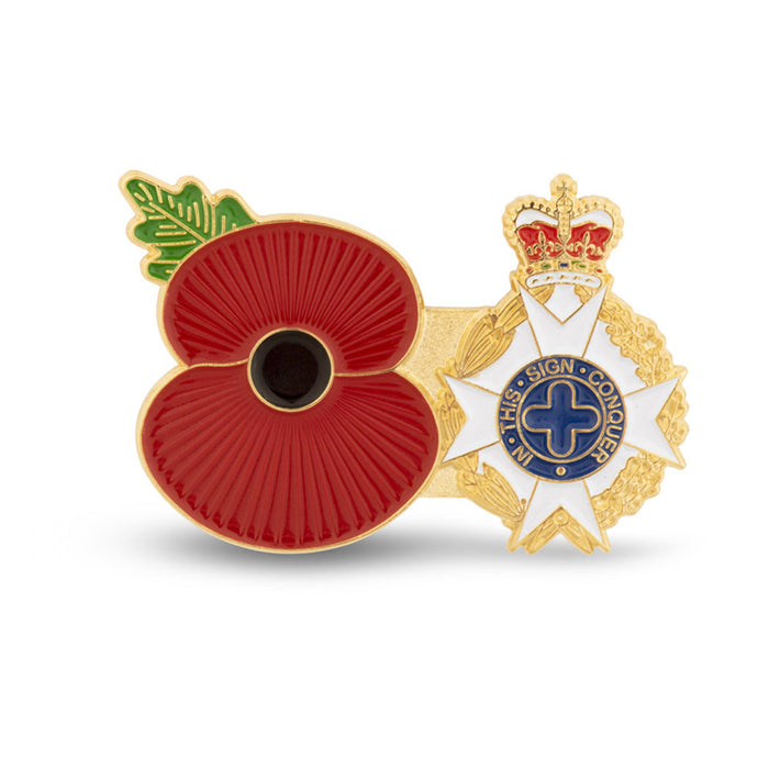 Service Poppy Pin Royal Army Chaplains Department