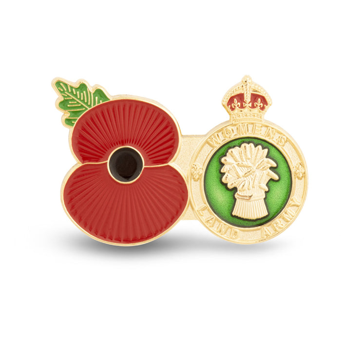 Service Poppy Pin The womens Land Army