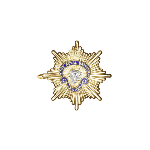 MEMBERS RBL Beret Badge