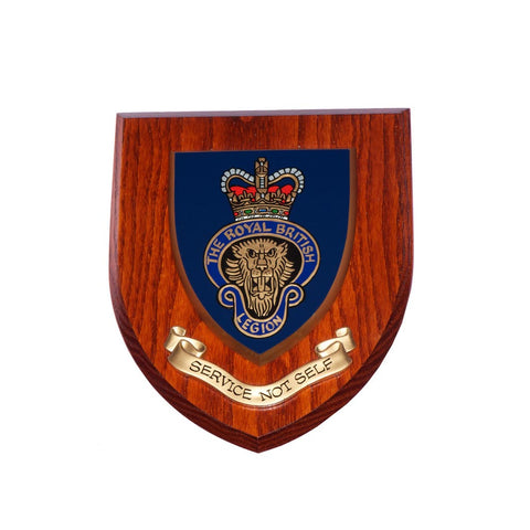 MEMBERS RBL Wall Shield 7x6 Hand Painted