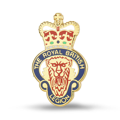 MEMBERS RBL Enamelled Lapel Pin Badge