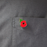 Poppy Lapel Pin Small