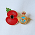 Service Poppy Pin Royal Air Force
