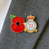 Service Poppy Pin Royal Air Force Red Arrows