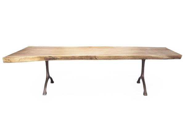 Rough Table - Iron Legs