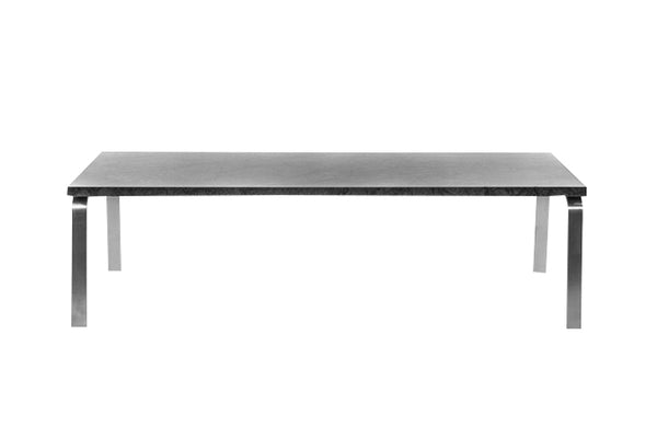 Man Coffee Table, Black Marble