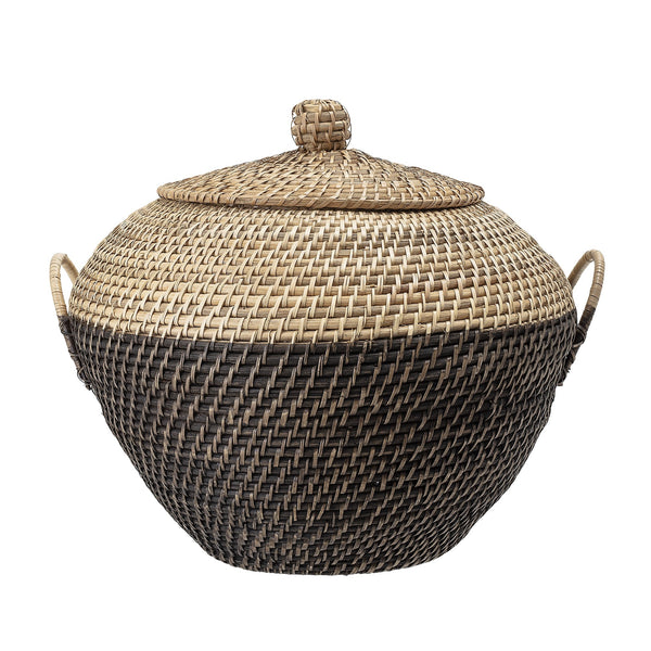 Basket w-Lid, Multi-color