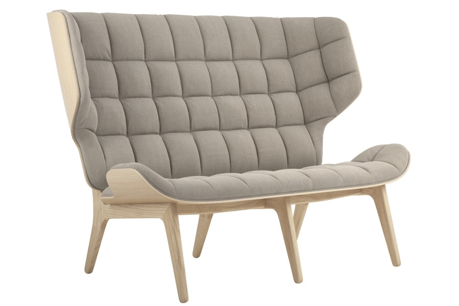 Mammoth Sofa Canvas, Naturlig Ramme