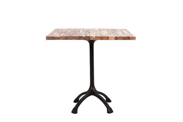 Raw Striped Cafe Table