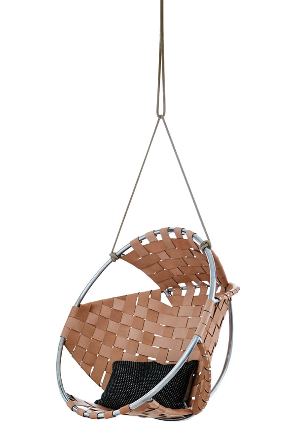 Cocoon Leather Hang Chair